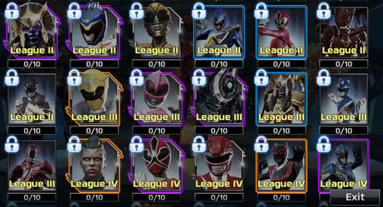 power rangers legacy wars get new characters