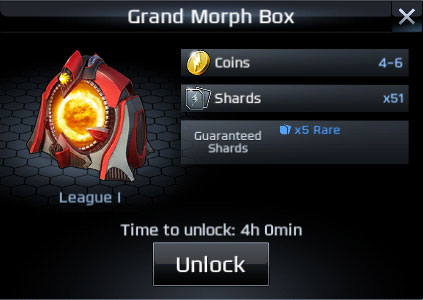 power rangers legacy wars grand morph box