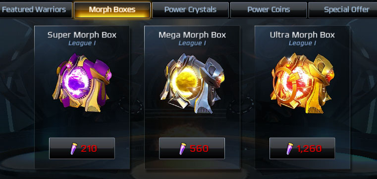 power rangers legacy wars how to get new warriors