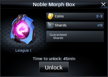 power rangers legacy wars noble morph box