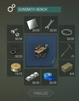 last day on earth survival how to build gunsmith bench