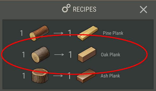 last day on earth survival how to get oak planks