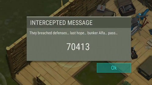 last day on earth vault alpha password
